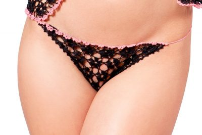 Mini lace thong Samanta